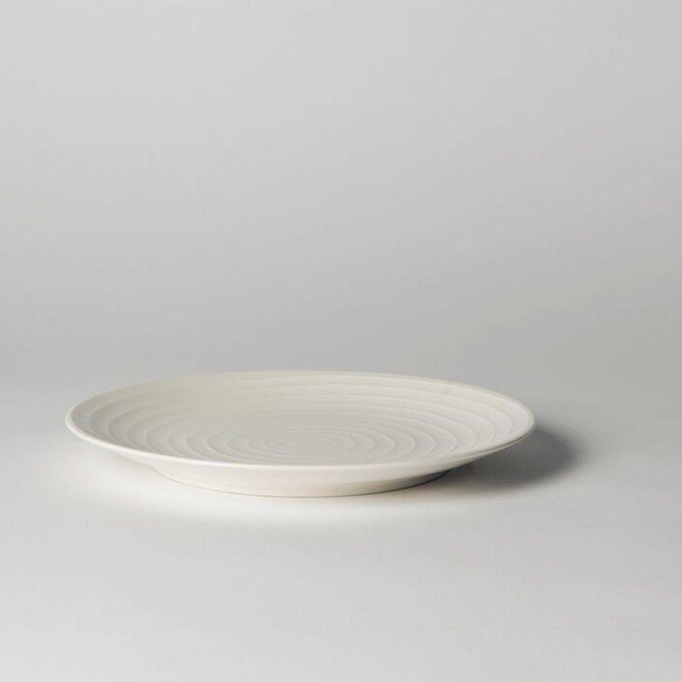 Blond Salad Plate 22 cm Stripe