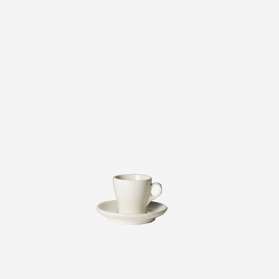 Blond Espresso Cup & Saucer