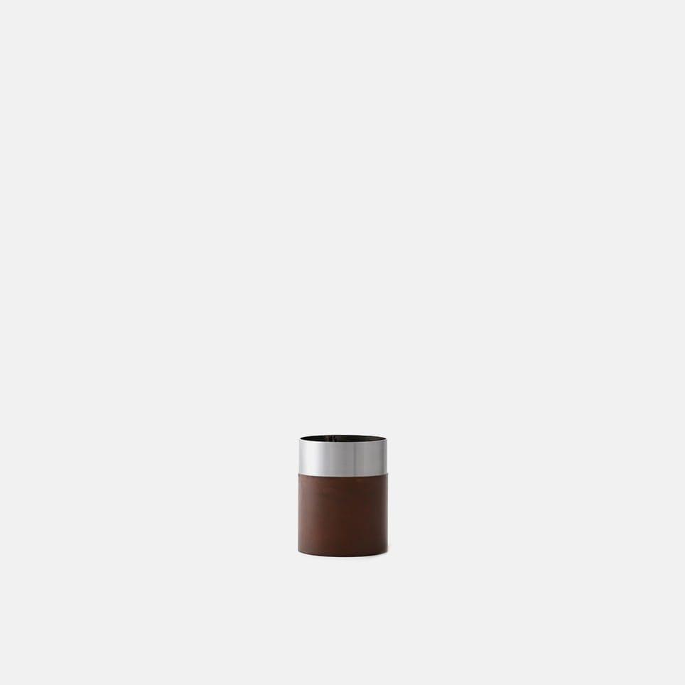 True Colour Vase - Brown Steel - Low