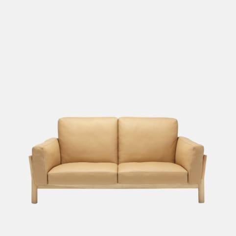 Sofa Castor Two Seaters de Piel de Karimoku