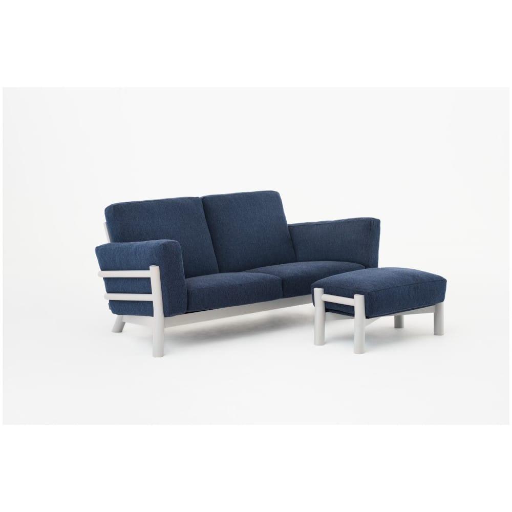 Sof castor de dos asiento con estructura de madera de - Muebles castor ...