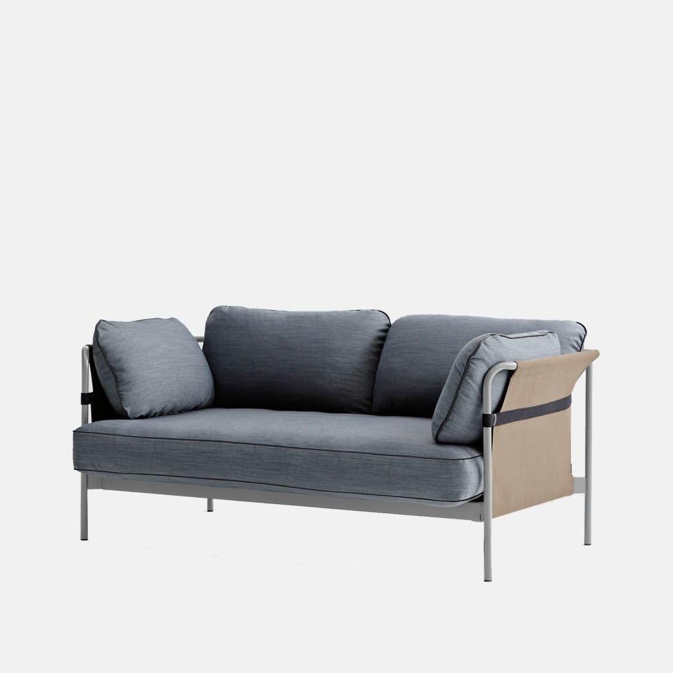 Sofá Can dos asientos de HAY